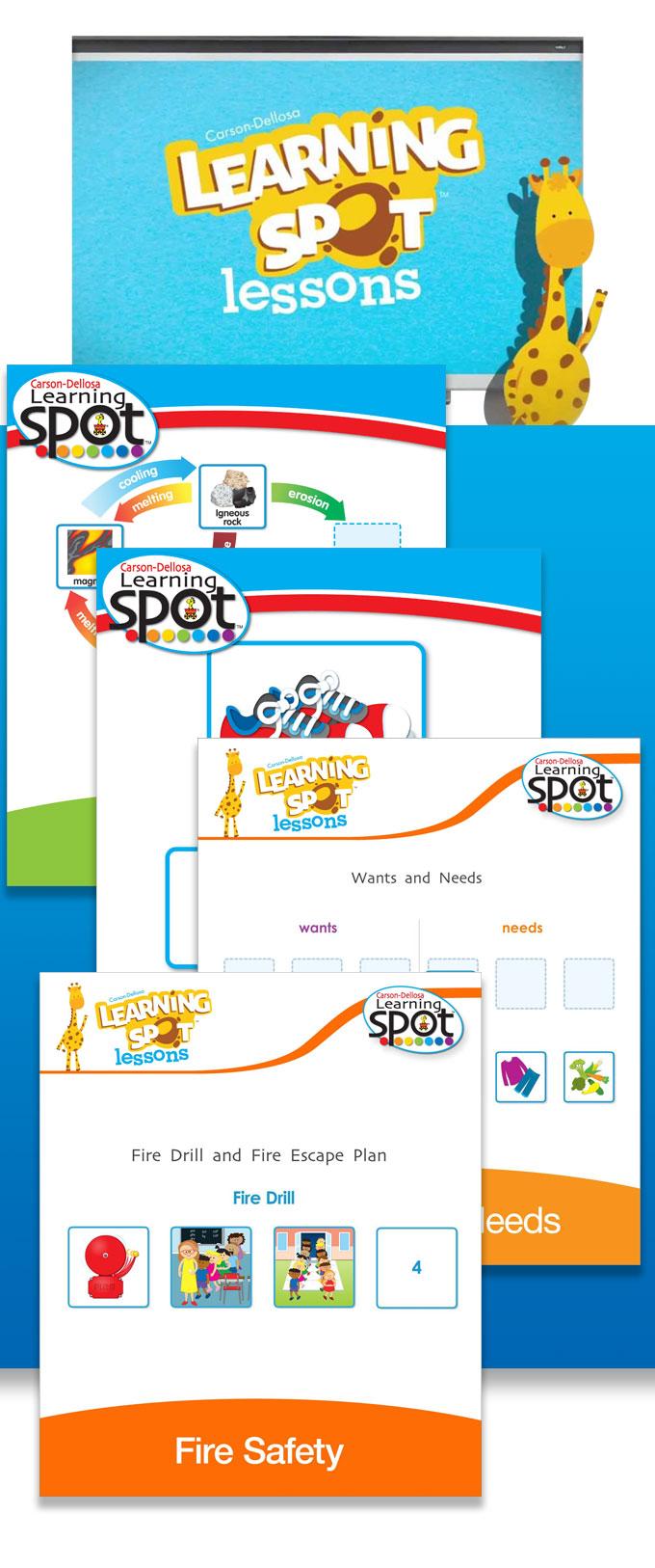 Carson-Dellosa: Learning Spot-96